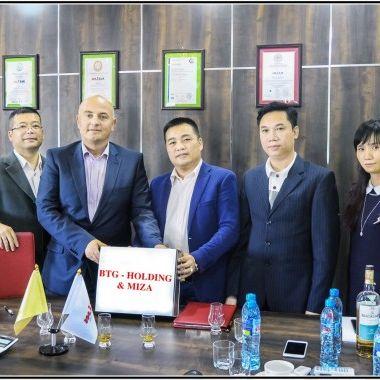 Lễ ký kết Hợp đồng BTG Holding - MIZA